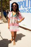Kristinia Debarge at Cosmopolitan Magazine's Second Annual Bikini...