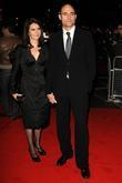Mark Strong and wife at the UK film...