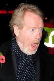 Ridley Scott at the UK film premiere of...