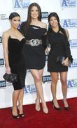Kim Kardashian, Kourteney Kardashian and Khloe Kardashian