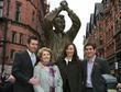 The Clough family,Simon,Barbara,Elizabeth and Nigel Brian Clough is...