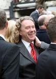 Ex Forest player Tony Woodcock shares a joke...