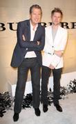 Mario Testino and Christopher Bailey