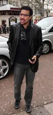 Lionel Ritchie Leaving Capital Radio Studios In Leicester Square