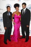 Denzel Washington and Barbara Davis