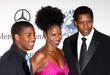 Denzel Washington, Barbara Davis, Beverly Hilton Hotel