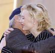 Steven Spielberg and Cate Blanchett