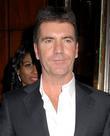 Simon Cowell  leaving Mr Chows Restaurant in...