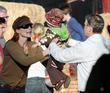 Marcia Cross and Tom Mahoney at Pumpkin Patch in West Hollywood.
