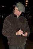 Jack Charlton  seen outside Westbury Hotel...