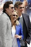 Jim Carrey, Robin Wright Penn and Colin Firth
