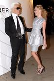 Karl Lagerfeld and Kate Bosworth