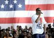 P Diddy speaking at the Last Chance For Change rally at Florida Memorial College