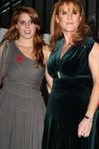 Princess Beatrice and Sarah Ferguson, Duchess of York...