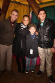 Aaron Carter, Christina Milian and Ryan Ochoa Children...