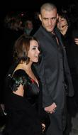 Dannii Minogue and Kris Smith