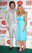 Melinda Messenger, husband Wayne Roberts and Grosvenor House