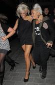 Jodie Marsh, her girlfriend Nina and leaving Chinawhite nightclub
