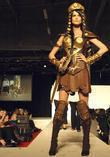 Chocolate Fashion Xena Warrior Princess by Joelle Mahoney...