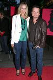 Tracy Pollan and Michael J. Fox Screening of...