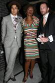 Zac Posen, Yolanda Ross and Scott Weiland