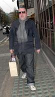 Chris Moyles seen leaving the Radio 1 Studios....