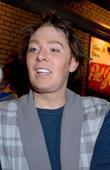 clay aiken signs autographs outside the shubert the