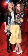 Tamsin Outhwaite and guest British Comedy Awards held...