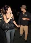 Audrina Patridge and Justin Bobby leaving the Crown...