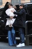 Katie Holmes, Suri Cruise and Tom Cruise