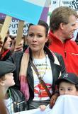 Amanda Mealing Tens of thousands of protesters marched...