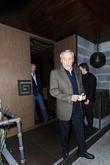 Dennis Hopper leaving Luau restaurant in Beverly Hills
