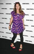 Jade Jagger at the Diesel 30th anniversary party...