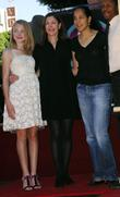 Dakota Fanning, Lauren Shuler Donner and Gina Bythewood