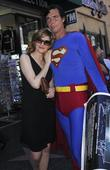 Rene Russo and Superman