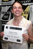 Sutton Foster Drama Desk Nominees Cocktail Party held...