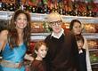 Dylan Lauren and Woody Allen
