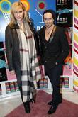 Amy Sacco and Beau Nelson Dylan Lauren unwraps...