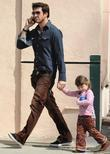 Dylan Mcdermott Out With His Daughter In Santa Monica