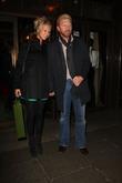 Boris Becker and Sandy Meyer-Wolden