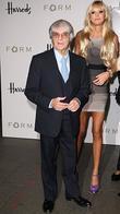 Bernie Ecclestone and Petra Ecclestone