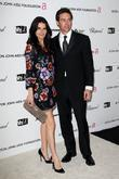 Angie Harmon and guest 17th Annual Elton John...