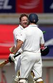 Andrew Strauss and Paul Collingwood Day 4 of...