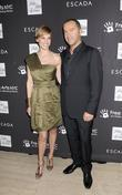 Hilary Swank and Damiano Biella Escada honours Damiano...