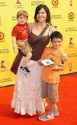 Lauren Sanchez and family