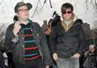 Patrick Stump, Pete Wentz Fall Out Boy set...