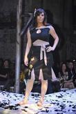 Candice Batista models designs by Damzels