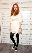 Lily Cole and Dorchester Hotel