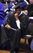 Earvin 'magic' Johnson Receives Honorary Doctor Of Humane Letters Degrees