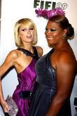 Paris Hilton and Queen Latifah  The 37th...
